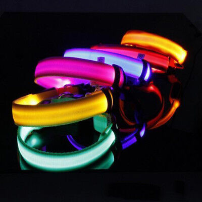 Fascinating LED Flashing Collar for Pets Dog Cat Night Safety  Light Luminous 4