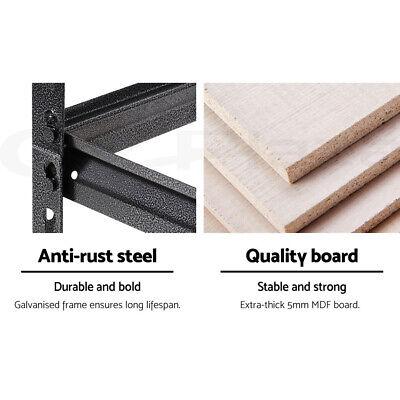 Giantz 0.7M Warehouse Racking Metal Steel Shelving Garage Storage Shelves Racks 5