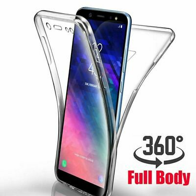 Samsung Galaxy S9 S10 Plus S8 360°Shockproof Full Soft Clear Silicone Case Cover 5