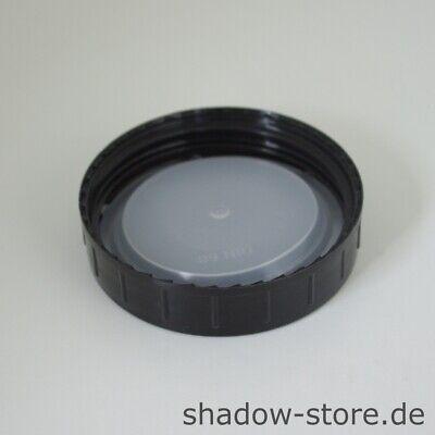 Apothekerglas, Vorratsglas, Weithalsflasche, 1000 ml, GL68, braun, inkl. Deckel 3