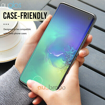 NUGLAS 3D Tempered Glass Screen Protector For Samsung Galaxy S10e S10 S10 Plus 8