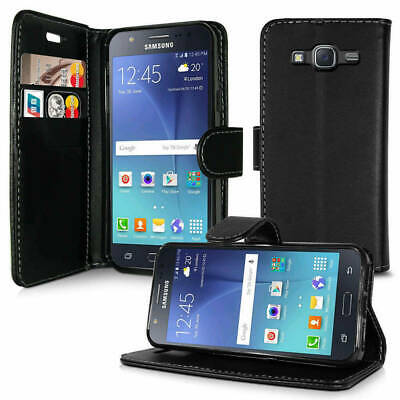 Case for Samsung Galaxy S10 S9 S8 Plus Cover Flip Wallet Leather Magnetic Luxury 2