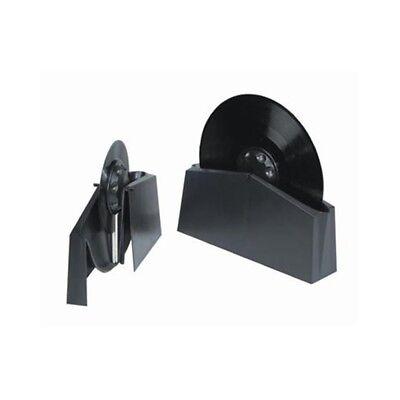 KNOSTI disco-antistat vasca+spazzole per pulizia dischi vinile a 33 45 78 giri 2