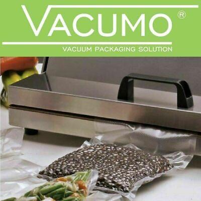 VACUMO S-VAC 250 Stk 15 x 50 cm Vakuumbeutel Gefrierbeutel Vakuumfolie goffriert