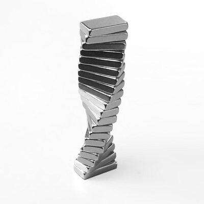 20 super MAGNETI potenti 10x5x2 magnete CALAMITA NEODIMIO calamite per FIMO 2