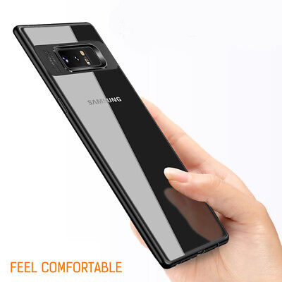 Samsung Galaxy S9 Slim Case S8 Plus Note 9 8 Luxury Shockproof Clear Back Cover 8