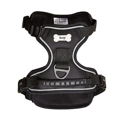 Bunty Soft Padded Comfortable Fabric Dog Puppy Pet Adjustable Outdoor Harness 5