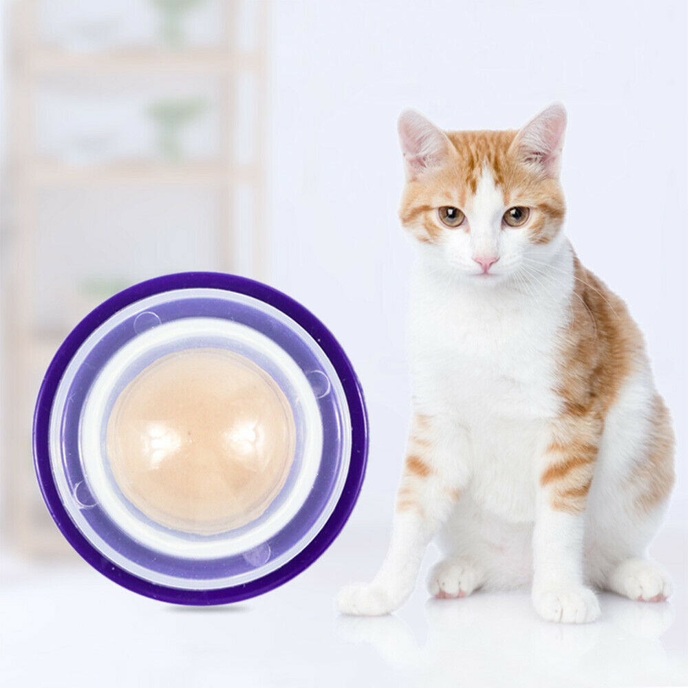1pc Healthy Cat Snacks Sugar Candy Licking Solid Nutrition Energy Ball Toys Good 9