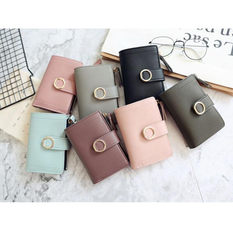 Fashion Women Ladies Leather Purse Money Clip Wallet Clutch Card Bag Holder Gift 4