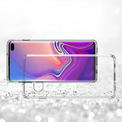Samsung Galaxy S10 5G S10e S9 S8 Plus Case Clear Heavy Duty Shockproof Cover 11