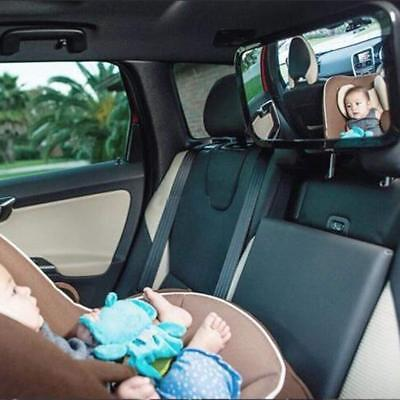 New Large Wide View Car Baby Child Inside Mirror View Rear Ward Back Safety UK 7