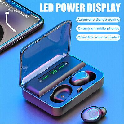Bluetooth 5.0 Earbuds Wireless Earphones TWS Stereo Deep Bass in-Ear Headphones 4