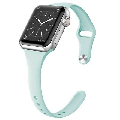For Apple Watch Series 5/4/3/2 Replacement Silicone Soft Sport iWatch Band Strap 12