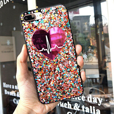 F iPhone 11 Pro Max 8 Plus XS Max XR Girls Love Cute Protective Phone Case Cover 2
