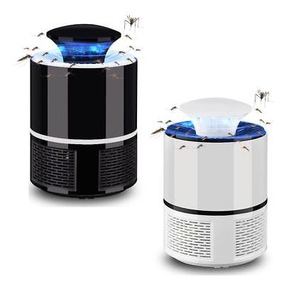 USB Mosquito Insect Killer Electric LED Light Fly Bug Zapper Trap Catcher Lamp 2