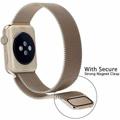 Magnetic Milanese watch Band iWatch Strap for Apple Watch Sport Series 4 3 2 1 3