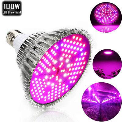 LED Grow Light Full Spectrum Veg Bloom Indoor 28W-3000W UV IR Plant Panel Lamp 4