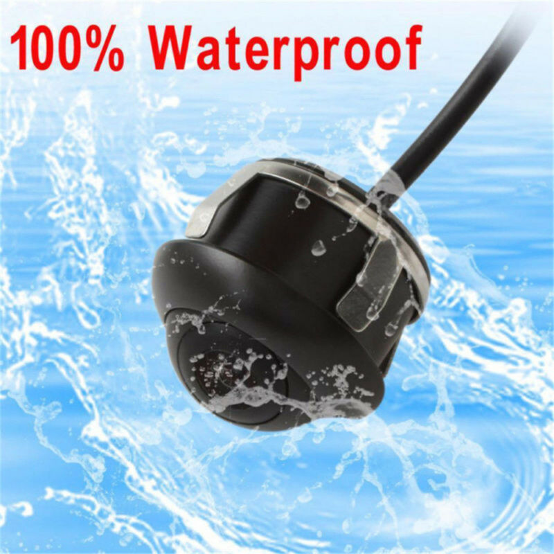 360° HD CCD Waterproof Car Rear View Reverse Backup Parking Camera Night Vision 3