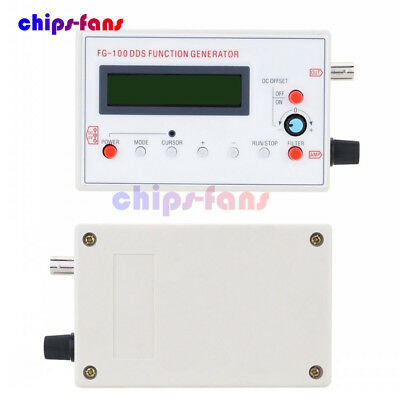DDS Function Signal Generator Sine+Triangle + Square Wave Frequency 1HZ-500KHz 4
