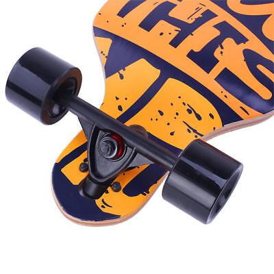 "41""Inch Longboard Skateboard Drop Longboard Cruiser Through downhill Complete 5"