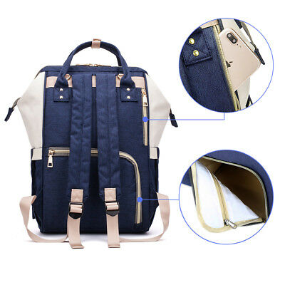 Waterproof Large Capacity Maternity Mummy Diaper Bag Baby Nappy Travel Backpack