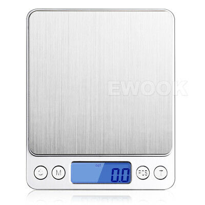 0.01G-500G Electronic Mini Digital Pocket Jewelry Gold Weighing Kitchen Scales 5