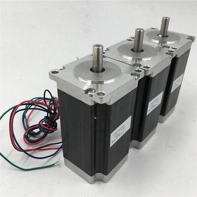 3pcs/lot Nema23 Stepper Motor 1.2Nm 2ph 4Wire L56MM 3A 170oz.in for CNC Router 7