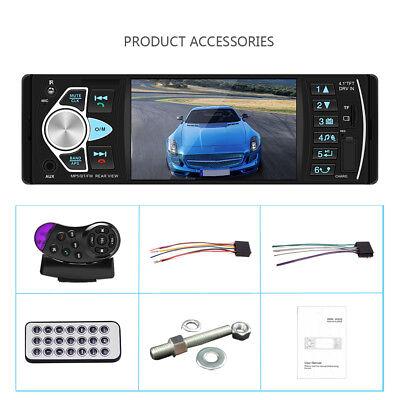 1Din Autoradio Mit Bildschirm Display Video Monitor Bluetooth Freisprech Usb Sd 12