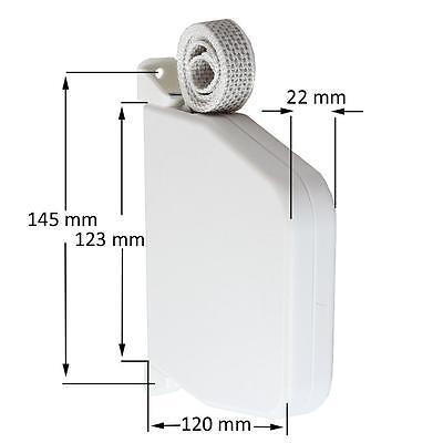5 x Aufschraubwickler Gurtwickler Mini Aufputz 7m Rolladen Gurtwickler Gurtband