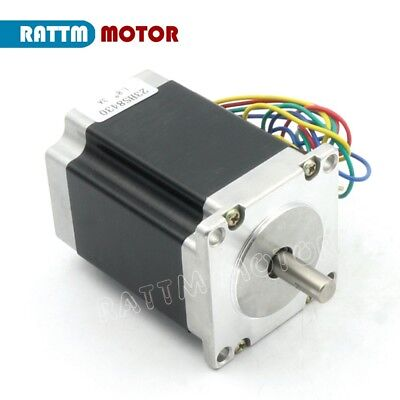 【IT】 3Pcs Nema23 Hybrid Stepper motor single shaft 270oz.in 1.8N.m 3A 76mm CNC 2