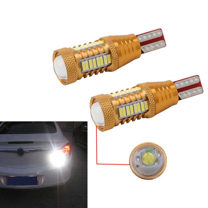 Canbus LED W16W T15 4014 32SMD Chip Car Rear Backup lampadina retromarcia 2