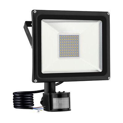 LED Flutlicht Fluter Strahler SMD Außen Scheinwerfer 10W 20W 30W 50W 100W 1000W 12