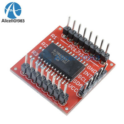 PCF8575 IIC I2C I/O Extension Shield Module 16 bit SMBus I/O ports For Arduino 10