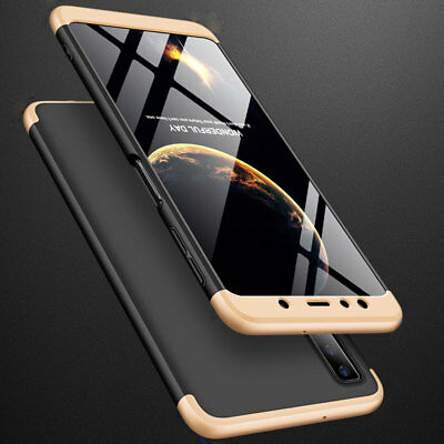 For Samsung Galaxy A7 2018/A750 J4 J6 Plus Case 360° Full Protective Armor Cover 12