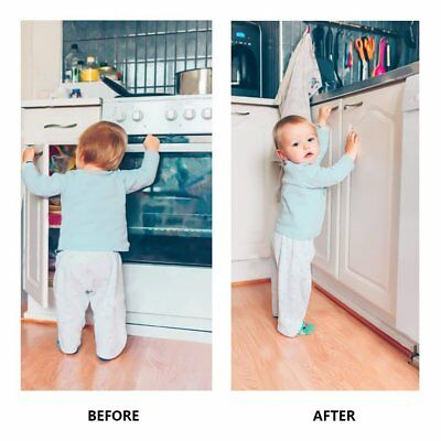 Invisible Magnetic Baby Child Locks Pet Proof Cupboard Drawer Safety Lock Catch 6