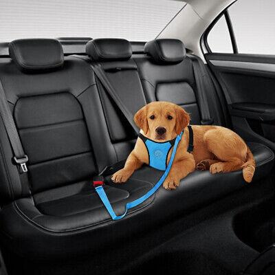 Air Mesh Dog Car Seat Belt Dog Harness&Seat Belt Clip Leash for Dog Travel S M L 10