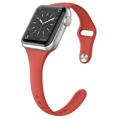 For Apple Watch Series 5/4/3/2 Replacement Silicone Soft Sport iWatch Band Strap 11