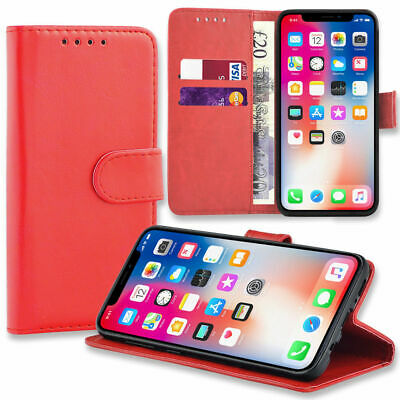 Case for Samsung Galaxy S10 S9 S8 Plus Cover Flip Wallet Leather Magnetic Luxury 5