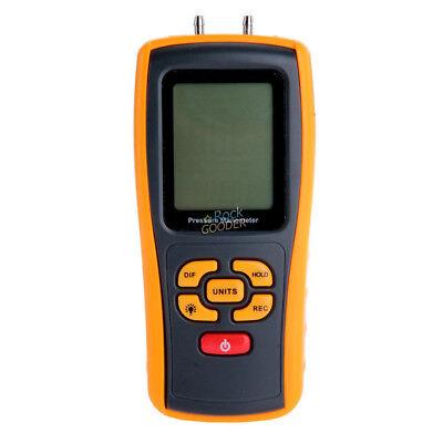 GM510 Handheld Digital Air Pressure Meter Manometer +/- 10kPa Measuring Teste rg 2