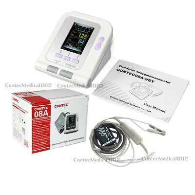 FDA Digital Blood Pressure Monitor Veterinary NIBP SPO2 Pulse Rate Oximeter + SW 3