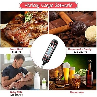 Kitchen Electronic Cooking Tools Probe BBQ Meat Thermometer Digital Cooking Tool