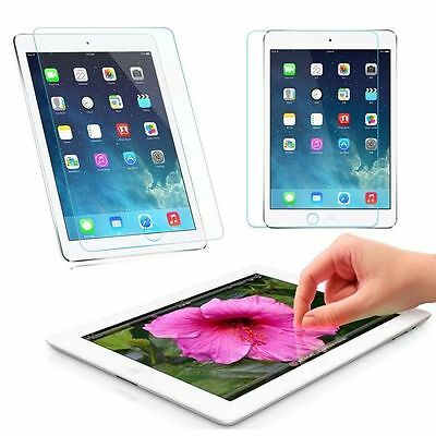 2X Screen Protector Tempered Glass for Apple iPad ALL MODEL Ultra Clear Premium 6