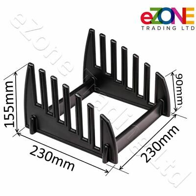 Chopping Board Stand Plastic Rack 6 Slot Catering Cutting Board Holder Storage 2