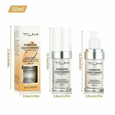 Magic Flawless Color Changing Foundation TLM Makeup Change Skin Tone Concealer 10