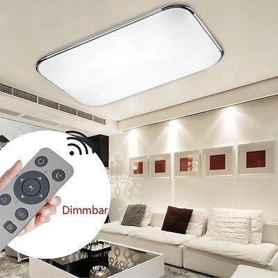 FB 36W-72W LED Badleuchte Deckenleuchte Dimmbar Deckenlampe Wohnzimmer Küche