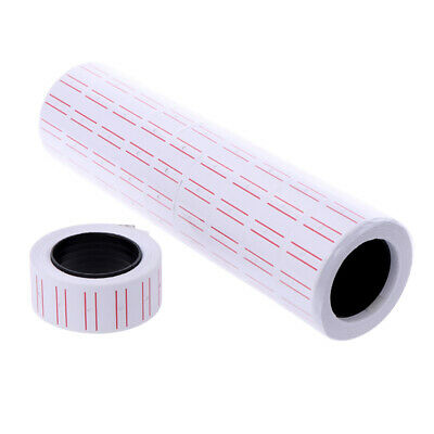 10 Rolls Price Pricing Label Paper Tag Tagging For MX-EOS5500 Labeller Gun 4