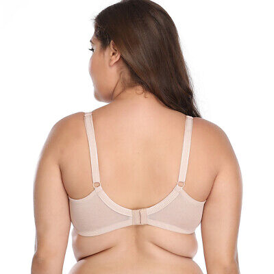 24d255600 ... Plus Size T-Shirt Bra Full Cup Coverage Underwired Perfect Comfort  Support CDEFG 10