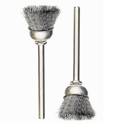 36pcs Wire Steel Brass Brushes Polishing Brush Wheels Set for Dremel Rotary Tool 9