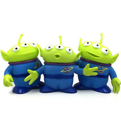 """3Pcs/Set Bisney Toy Story 6"""" Alien Figure Toys Xmas Collection Display Gift 2"""