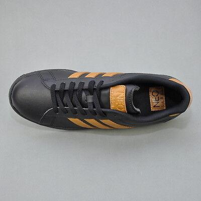 ADIDAS NEO DERBY II LE Herren Sneaker Schuhe SchwarzBraun